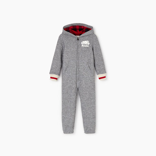 Roots-Kids Toddler Boys-Toddler Roots Cabin Onesie-Salt & Pepper-A