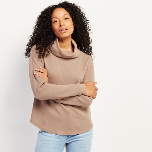 Roots-New For November Work From Home-Kinuso Turtleneck Top-Fossil-A
