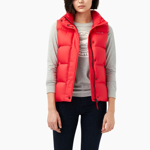 Roots-Winter Sale Women-Fairbank Vest-Lollipop-A