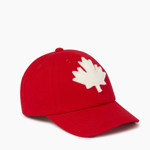 Roots-Kids Our Favourite New Arrivals-Toddler Canada Baseball Cap-Red-A