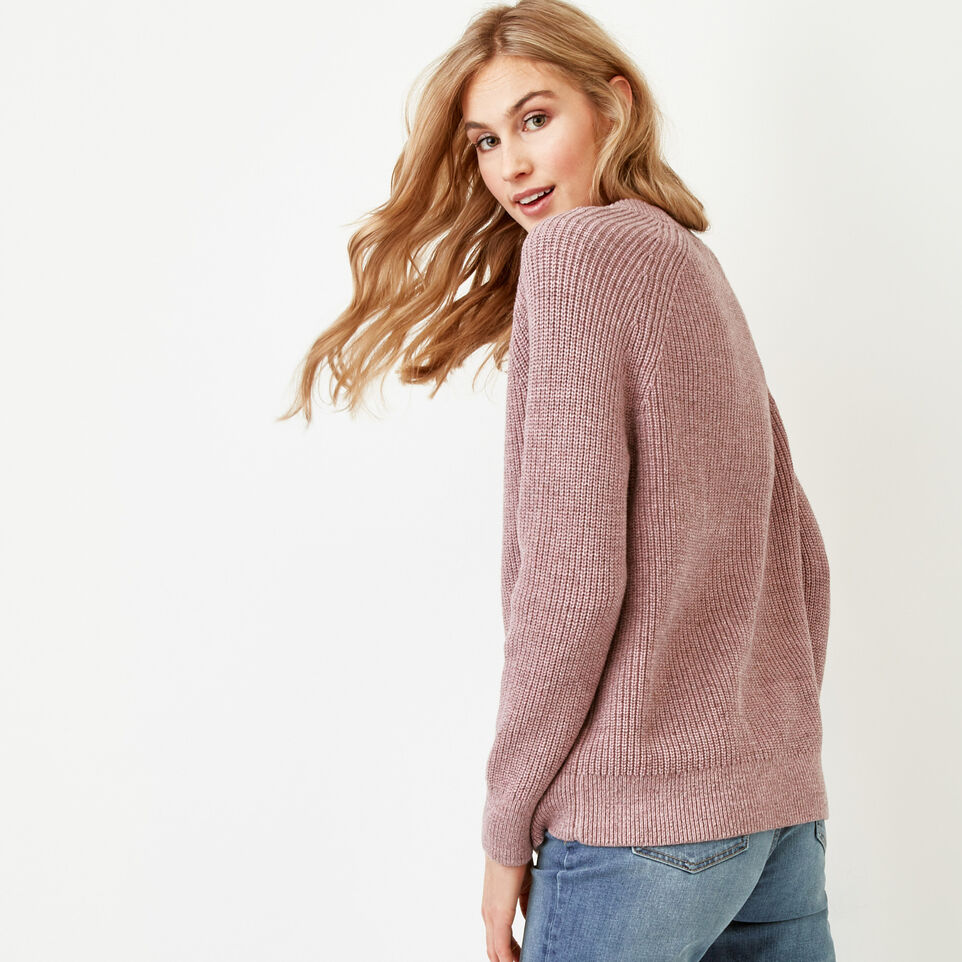 Roots-Women Our Favourite New Arrivals-Yukon Crew Sweater-Dark Lilas Mix-A