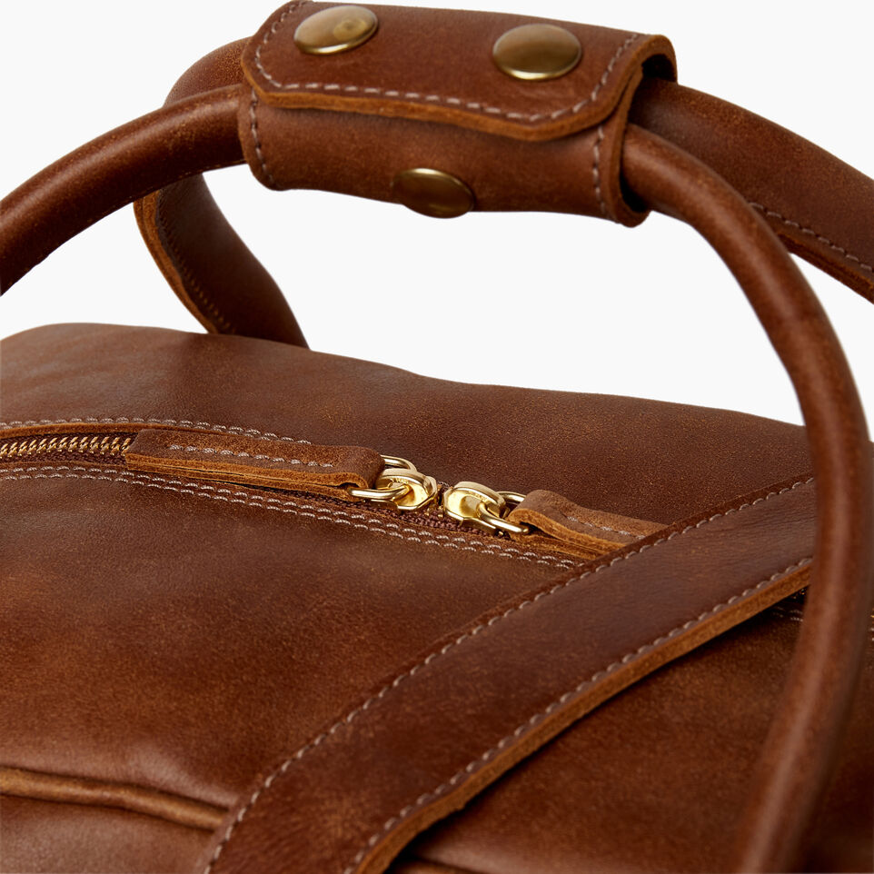 Roots-Leather Our Favourite New Arrivals-Jasper Gym Bag-Natural-E