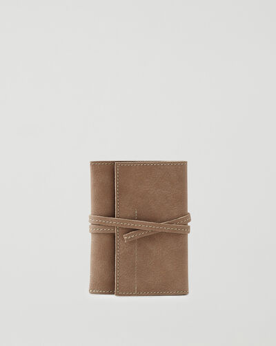 Roots-Leather Tech & Travel-Roll Up Case Tribe-Sand-A