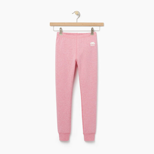 Roots-Kids Categories-Girls Cozy Fleece Legging-Sea Pink Mix-A