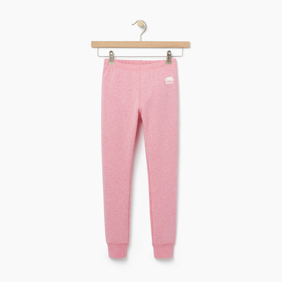 Roots-undefined-Girls Cozy Fleece Legging-undefined-A