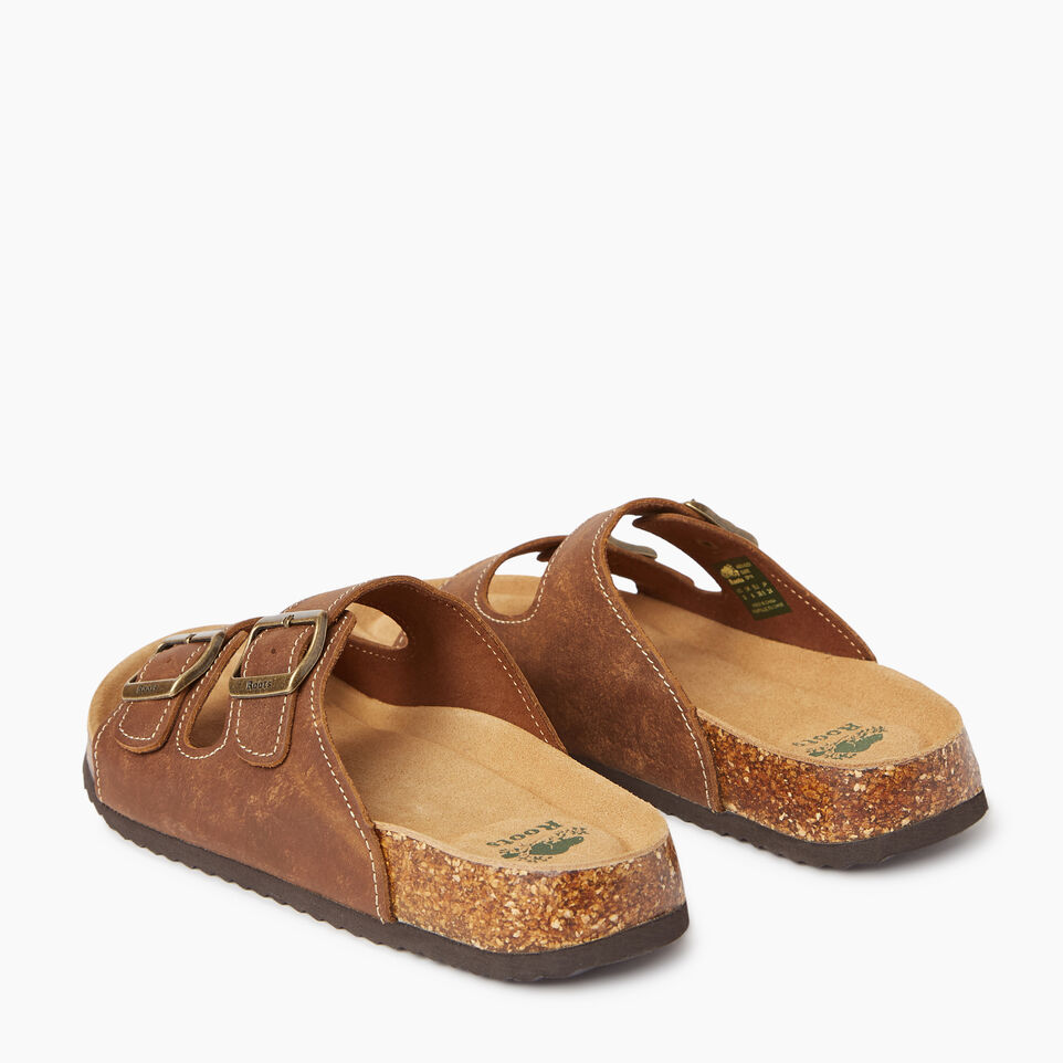 Roots-Footwear Men's Footwear-Mens Natural 2 Strap Sandal-undefined-C