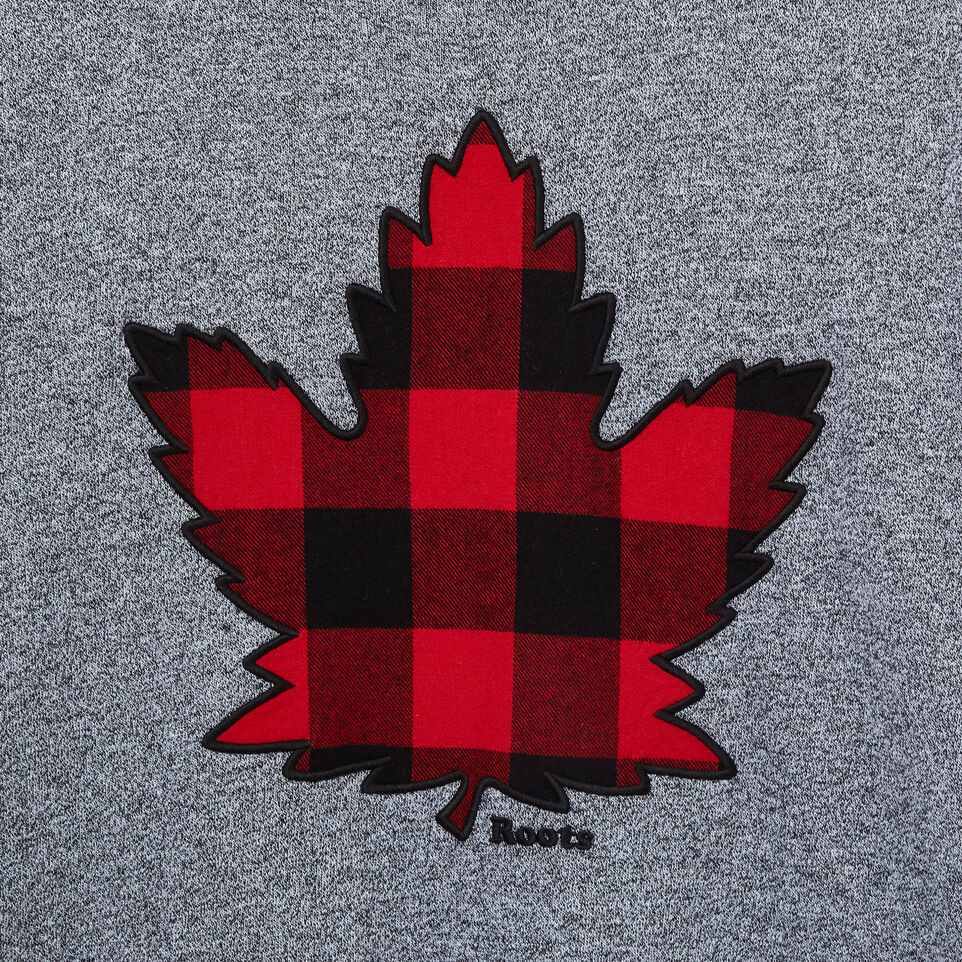 Roots-undefined-Mens Canuck Plaid Longsleeve T-shirt-undefined-D