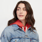 Roots-undefined-Levi's Crop Dad Trucker Jacket-undefined-E