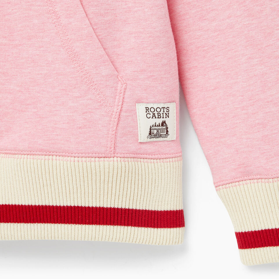 Roots-undefined-Girls Cabin Full Zip Hoody-undefined-D