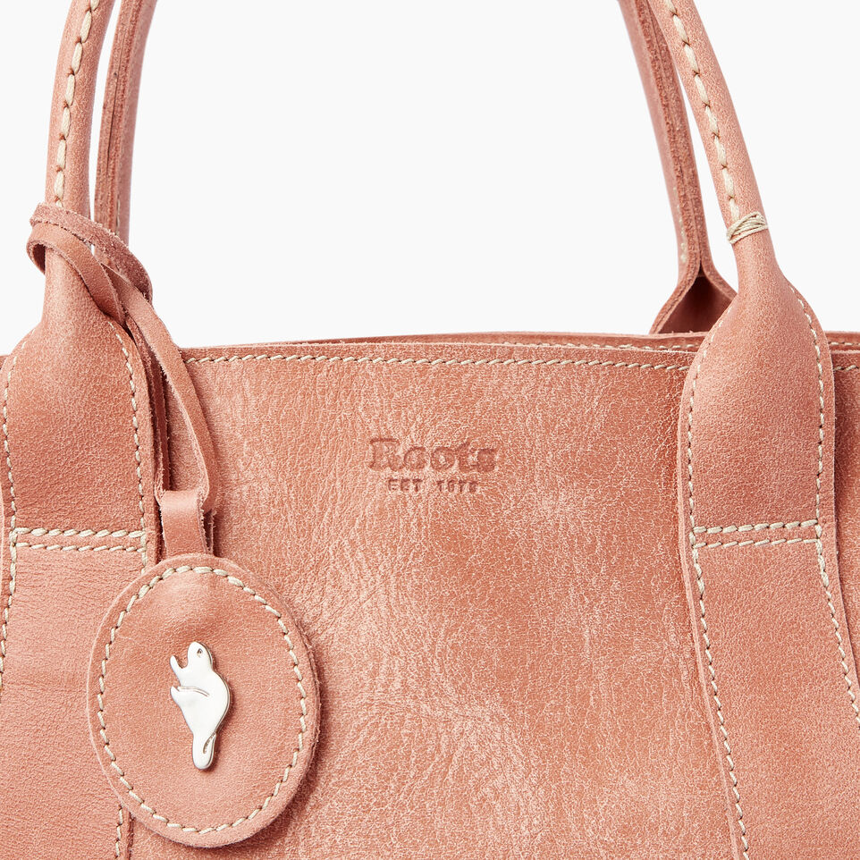 Roots-Leather Our Favourite New Arrivals-Annex Tote-Canyon Rose-E