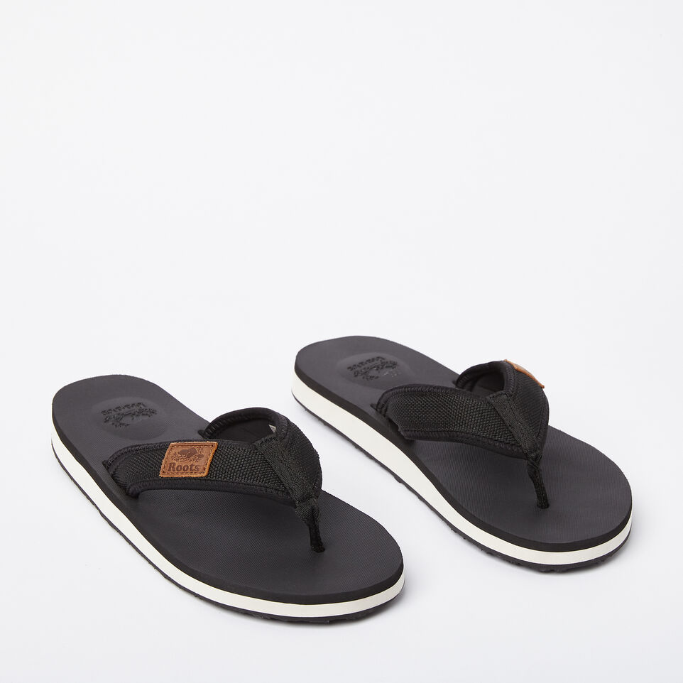Roots-undefined-Mens Tofino Flip Flop Web-undefined-B