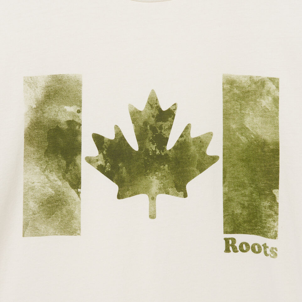 Roots-undefined-Mens Watercolour Flag T-shirt-undefined-D
