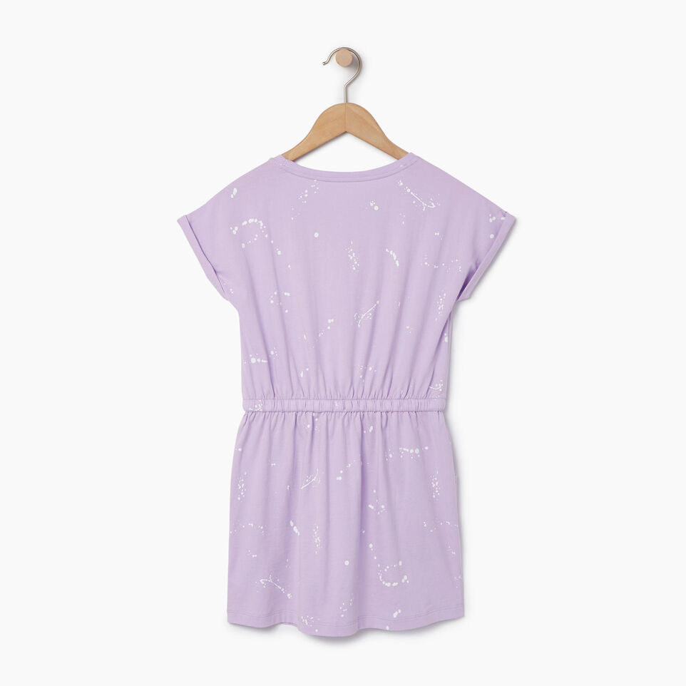 Roots-Kids Our Favourite New Arrivals-Girls T-shirt Dress-Lavendula-B