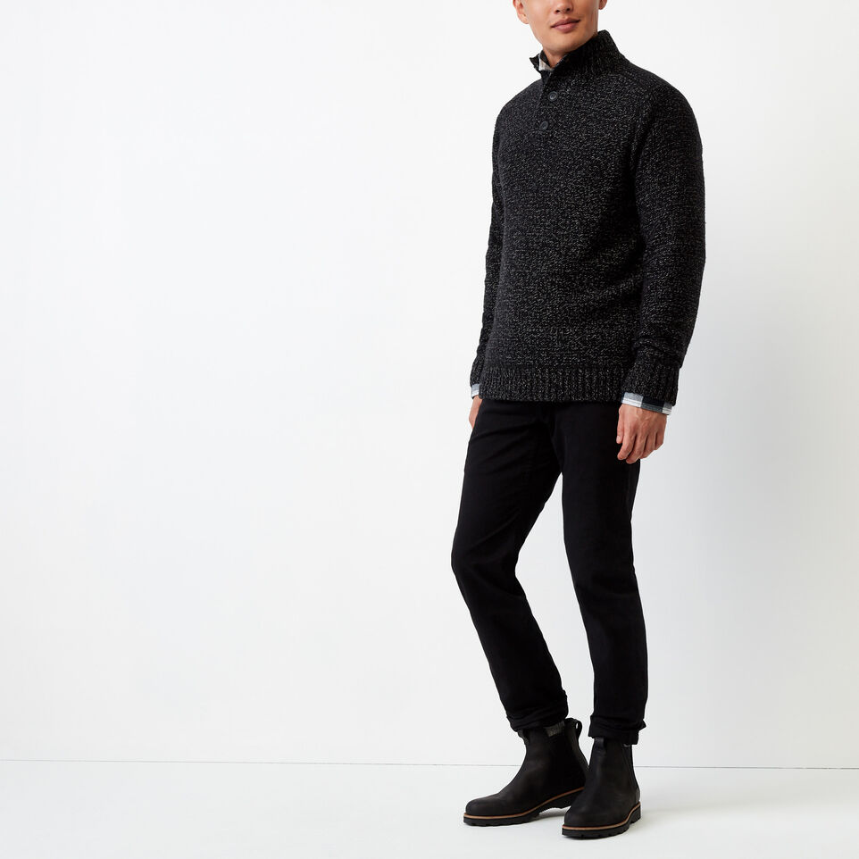 Roots-undefined-Snowy Fox Mock Neck Sweater-undefined-B