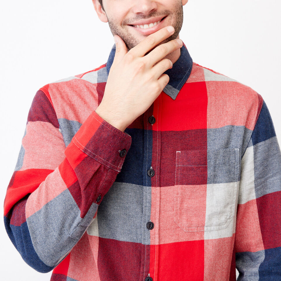 Roots-undefined-Redrock Flannel Shirt-undefined-E