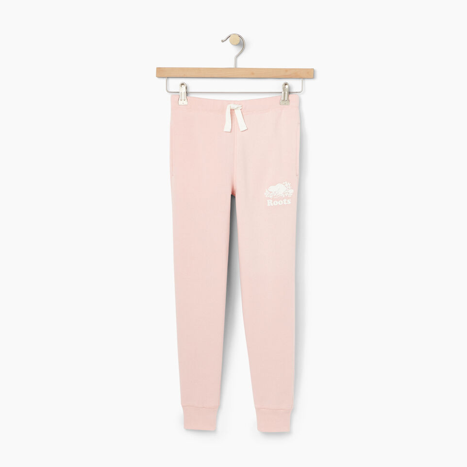 Roots-undefined-Girls Fleece Sweatpant-undefined-A
