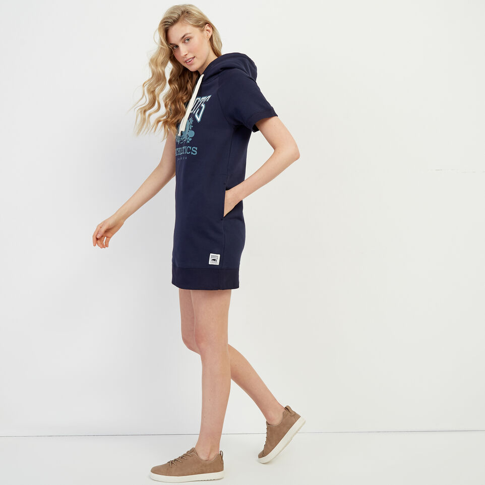 Roots-New For March Rba Collection-RBA Hooded Dress-Navy Blazer-C