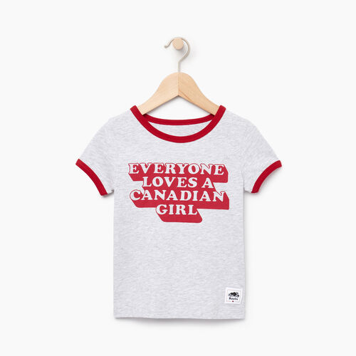 Roots-Kids Canada Collection-Toddler Canadian Girl T-shirt-Snowy Ice Mix-A