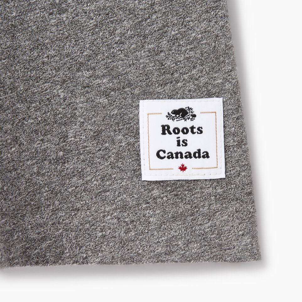 Roots-Men Canada Collection By Roots™-Mens Cooper Canada T-shirt-Grey Mix Pepper-C