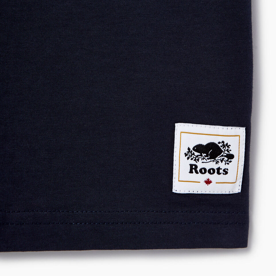 Roots-Kids Our Favourite New Arrivals-Boys Cooper Canada Ringer T-shirt-Navy Blazer-C