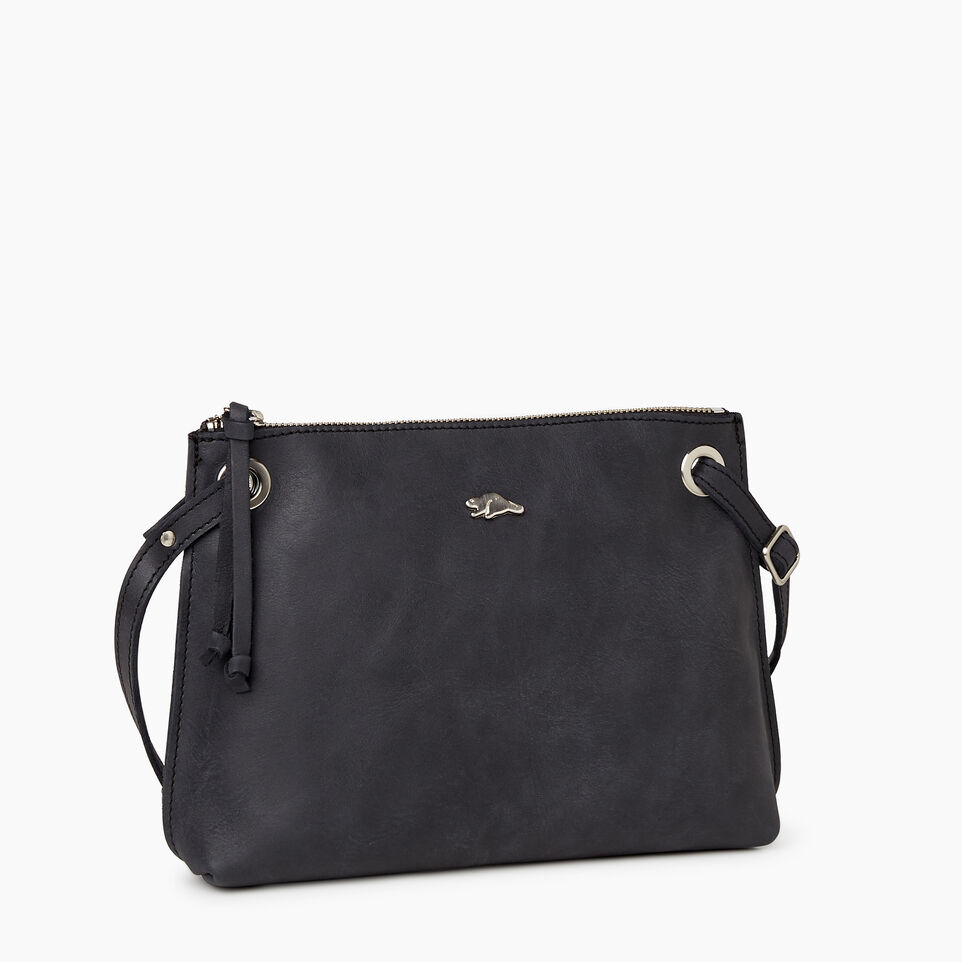 Roots-Leather New Arrivals-Edie Bag-Jet Black-A