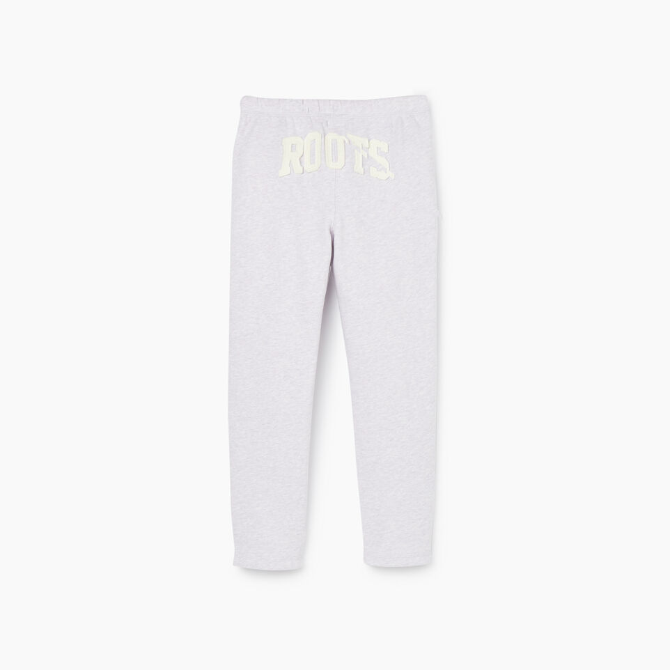 Roots-Sale Kids-Girls Easy Ankle Sweatpant-Wisteria Mix-B