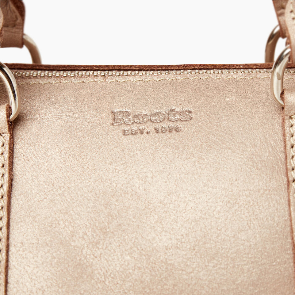 Roots-Leather New Arrivals-City Banff Bag-Champagne-E