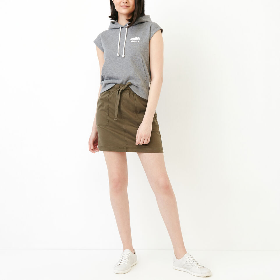 Roots-Women Our Favourite New Arrivals-Essential Skirt-Fatigue-B