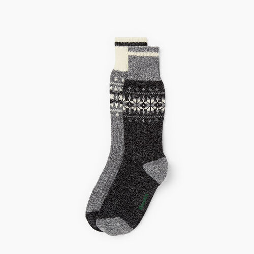Roots-New For November The Roots Cabin Collection™-Roots Ashli Cabin Sock 2 Pack-Black Mix-A