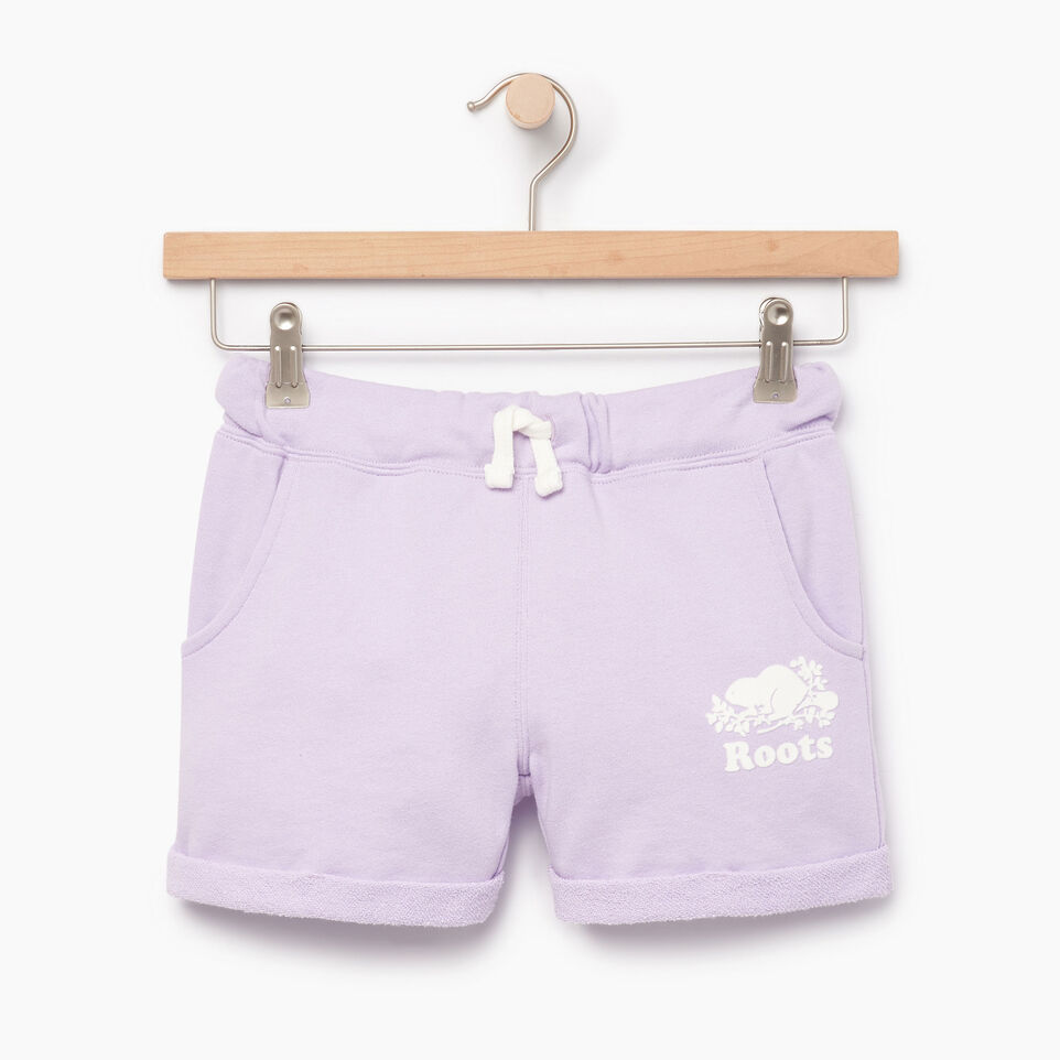 Roots-Kids Our Favourite New Arrivals-Girls Roots Beach Short-Lavendula-A