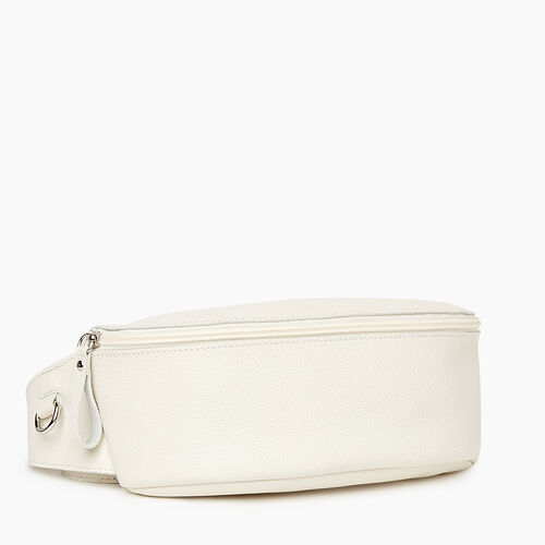 Roots-Women Leather-Large Belt Bag Cervino-Ivory-A