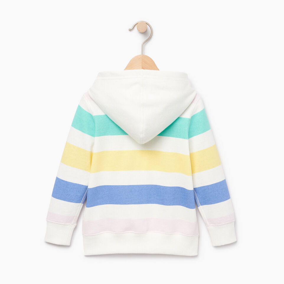 Roots-Kids Our Favourite New Arrivals-Toddler Ombre Stripe Full Zip Hoody-Ivory-B