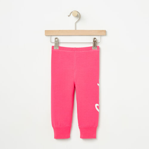 Roots-Kids Collections-Baby Canada Legging-Pink Flambé-A