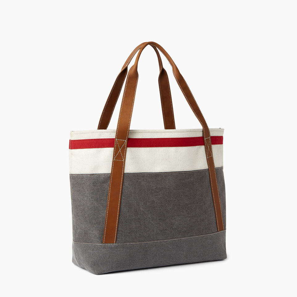Roots-Women General Store-Cabin Tote-Grey Oat Mix-C