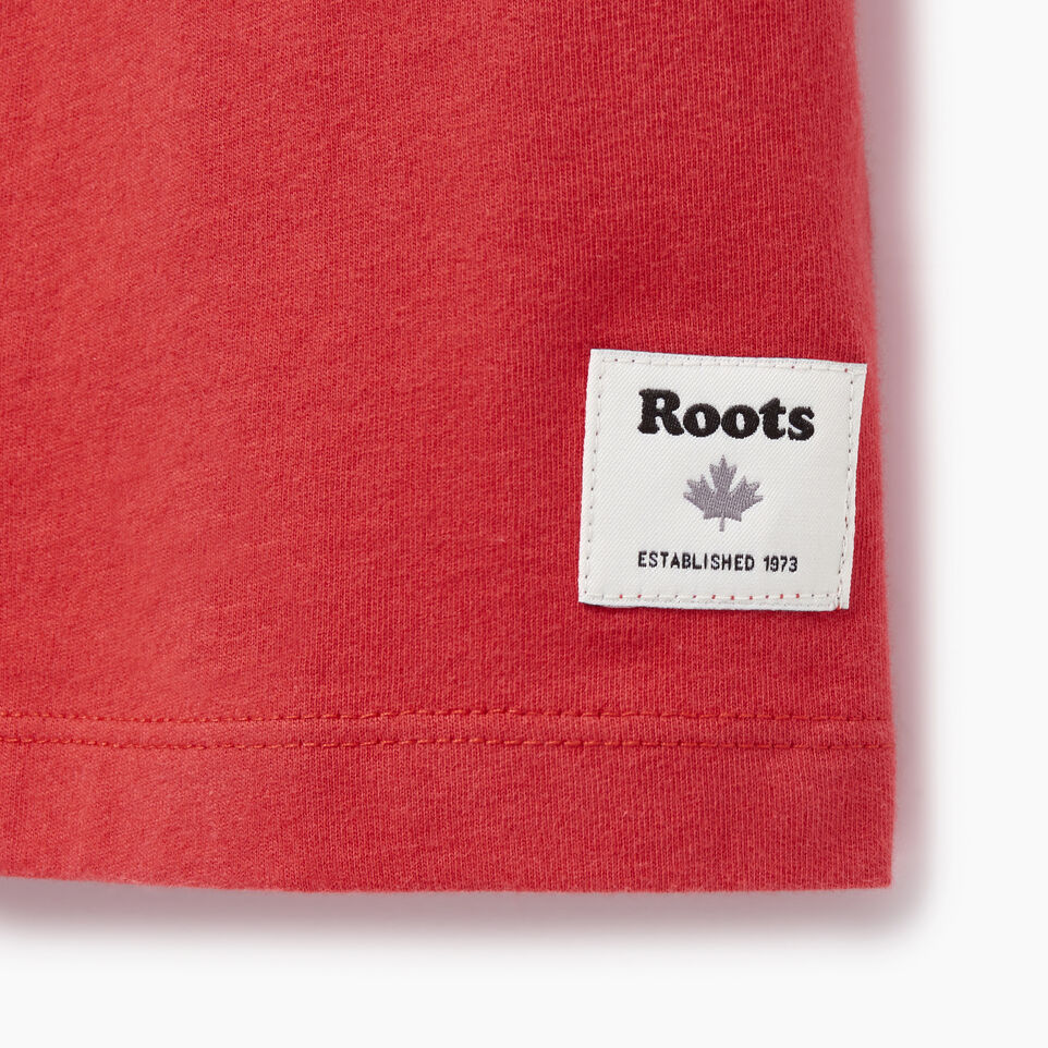 Roots-Women Our Favourite New Arrivals-Womens Cooper Beaver Ringer T-shirt-Baked Apple-C