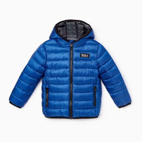 Roots-Kids Toddler Boys-Toddler Roots Puffer Jacket-Azure Blue-A