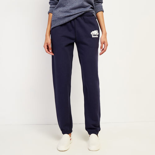 Roots-Women New Arrivals-Original Sweatpant-Navy Blazer-A