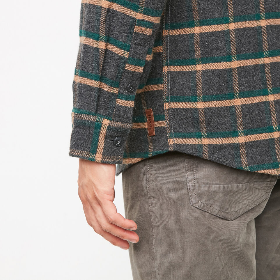 Roots-undefined-Armstrong Flannel Shirt-undefined-E
