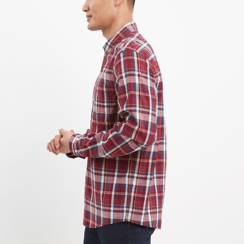 Roots-undefined-Madras Long Sleeve Shirt-undefined-B