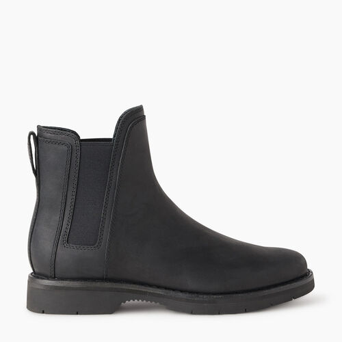 Roots-Footwear New Arrivals-Womens Junction Boot-Black-A