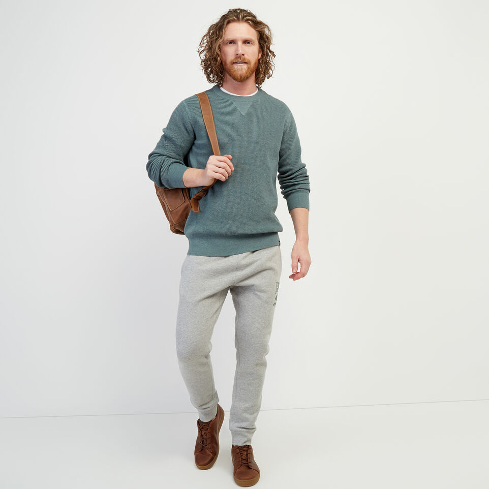 Roots-New For February Journey Collection-Journey Sweater Crew-North Atlantic Mix-B