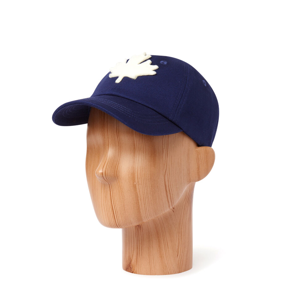 Roots-Kids Our Favourite New Arrivals-Kids Canada Baseball Cap-Navy-B