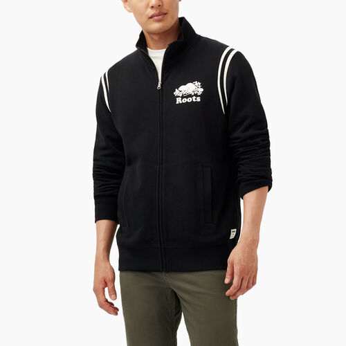 Roots-Winter Sale Men-Var-city Track Jacket-Black-A