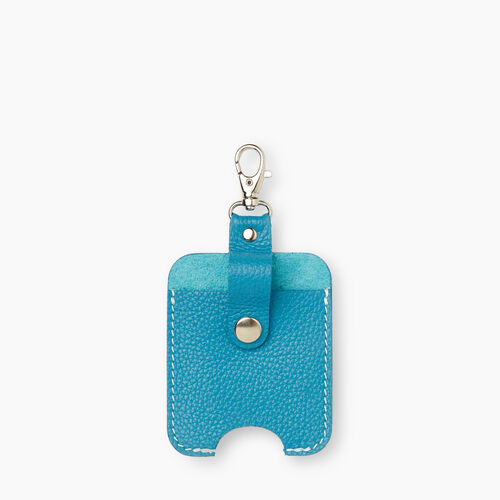 Roots-New For December Mask & Wellness Accessories-Hand Sanitizer Holder Cervino-Blue Lagoon-A
