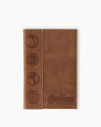 Roots-New For This Month Shop By Character-Avengers Medium Sketchbook-Natural-A