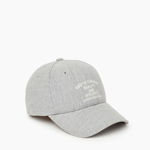 Roots-Men Our Favourite New Arrivals-Yonge Baseball Cap-Grey Mix-A