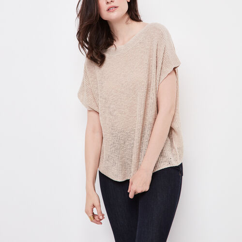 Roots-Women Sweaters & Cardigans-Lilloette Sweater-Natural-A