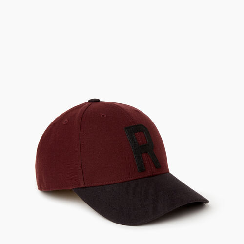 Roots-Men Our Favourite New Arrivals-Two Tone Baseball Cap-Crimson-A
