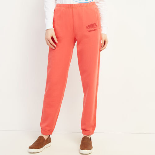 Roots-Women New Arrivals-Kawartha Original Sweatpant-Raspberry-A