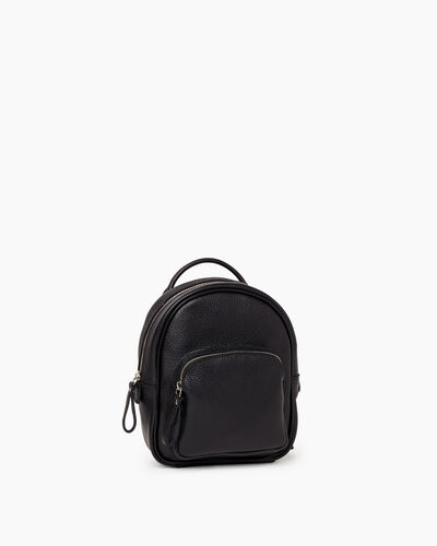 Roots-Leather New Arrivals-Mini Chelsea Pack Cervino-Black-A